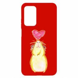 Чохол для Xiaomi Mi 10T/10T Pro Морська свинка і сердечко