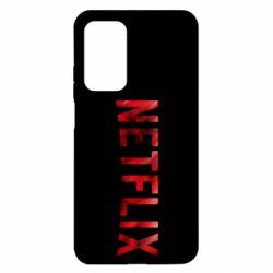 Чехол для Xiaomi Mi 10T/10T Pro Netflix logo text
