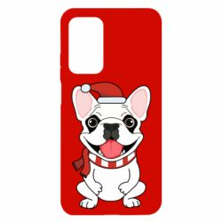Чехол для Xiaomi Mi 10T/10T Pro New Year's French Bulldog
