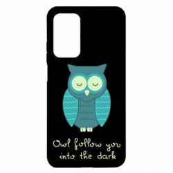 Чехол для Xiaomi Mi 10T/10T Pro Owl follow you into the dark