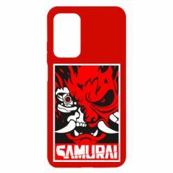 Чехол для Xiaomi Mi 10T/10T Pro Poster samurai Cyberpunk