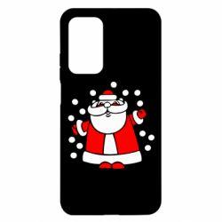Чехол для Xiaomi Mi 10T/10T Pro Прикольный дед мороз