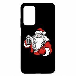 Чехол для Xiaomi Mi 10T/10T Pro Santa Claus with beer