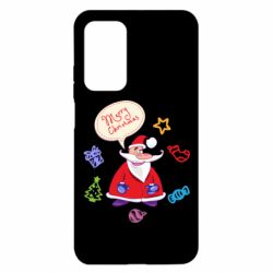 Чехол для Xiaomi Mi 10T/10T Pro Santa says merry christmas