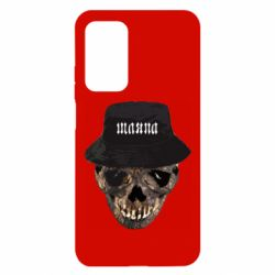 Чехол для Xiaomi Mi 10T/10T Pro Skull in hat and text