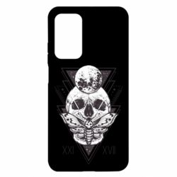 Чохол для Xiaomi Mi 10T/10T Pro Skull with insect