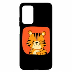 Чехол для Xiaomi Mi 10T/10T Pro Striped tiger with smile
