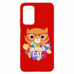 Чехол для Xiaomi Mi 10T/10T Pro Summer cat