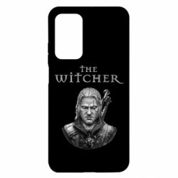 Чехол для Xiaomi Mi 10T/10T Pro The witcher art black and gray