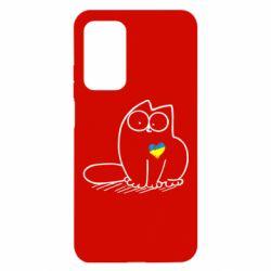Чехол для Xiaomi Mi 10T/10T Pro Типовий український кіт