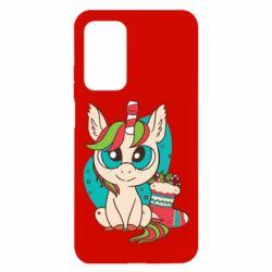 Чехол для Xiaomi Mi 10T/10T Pro Unicorn Christmas