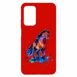 Чехол для Xiaomi Mi 10T/10T Pro Watercolor horse
