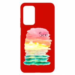 Чехол для Xiaomi Mi 10T/10T Pro Watercolor pattern with sea