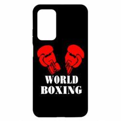 Чехол для Xiaomi Mi 10T/10T Pro World Boxing