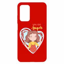Чехол для Xiaomi Mi 10T/10T Pro You are super girl