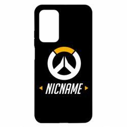 Чехол для Xiaomi Mi 10T/10T Pro Your Nickname Overwatch