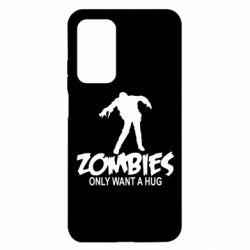 Чехол для Xiaomi Mi 10T/10T Pro Zombies only want a hug