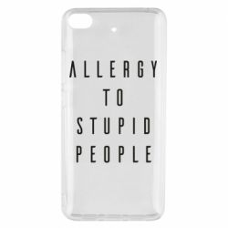 Чехол для Xiaomi Mi 5s Allergy To Stupid People