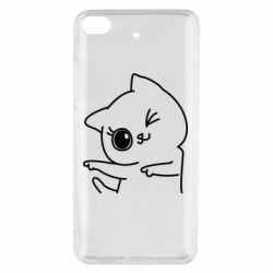 Чехол для Xiaomi Mi 5s Cheerful kitten