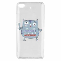 Чехол для Xiaomi Mi 5s Cute cat and text