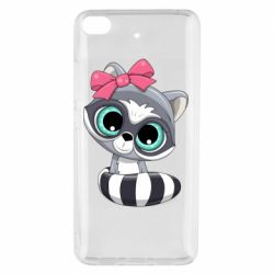 Чехол для Xiaomi Mi 5s Cute raccoon