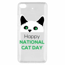 Чехол для Xiaomi Mi 5s Happy National Cat Day