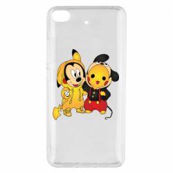 Чехол для Xiaomi Mi 5s Mickey and Pikachu