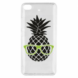 Чехол для Xiaomi Mi 5s Pineapple with glasses