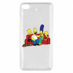 Чехол для Xiaomi Mi 5s Simpsons At Home
