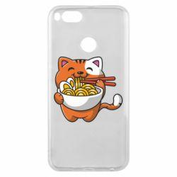 Чохол для Xiaomi Mi A1 Cat and Ramen