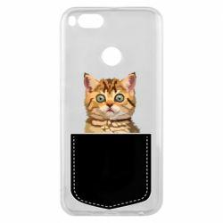 Чехол для Xiaomi Mi A1 Cat in your pocket