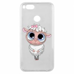 Чехол для Xiaomi Mi A1 Cute lamb with big eyes
