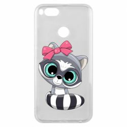 Чехол для Xiaomi Mi A1 Cute raccoon