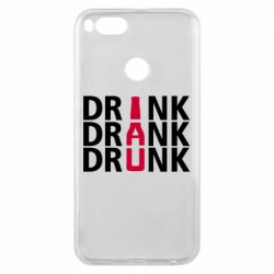 Чехол для Xiaomi Mi A1 Drink Drank Drunk