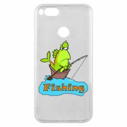 Чехол для Xiaomi Mi A1 Fish Fishing