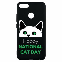 Чехол для Xiaomi Mi A1 Happy National Cat Day