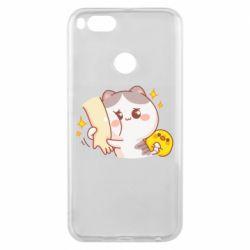 Чохол для Xiaomi Mi A1 Кішка тримає руку
