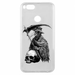 Чехол для Xiaomi Mi A1 Plague Doctor graphic arts