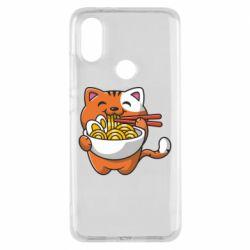 Чохол для Xiaomi Mi A2 Cat and Ramen