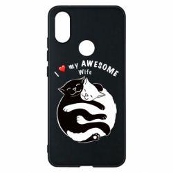 Чехол для Xiaomi Mi A2 Cats with a smile