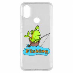 Чехол для Xiaomi Mi A2 Fish Fishing