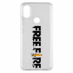 Чехол для Xiaomi Mi A2 Free Fire spray