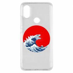 Чохол для Xiaomi Mi A2 Godzilla Wave