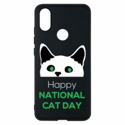 Чехол для Xiaomi Mi A2 Happy National Cat Day