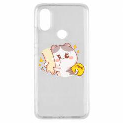 Чохол для Xiaomi Mi A2 Кішка тримає руку