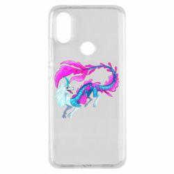 Чохол для Xiaomi Mi A2 Sisu Water Dragon