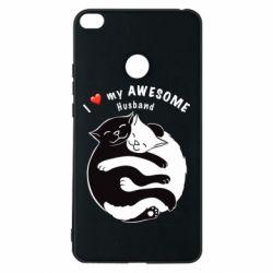 Чехол для Xiaomi Mi Max 2 Cats and love