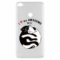 Чехол для Xiaomi Mi Max 2 Cats with a smile