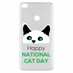 Чехол для Xiaomi Mi Max 2 Happy National Cat Day