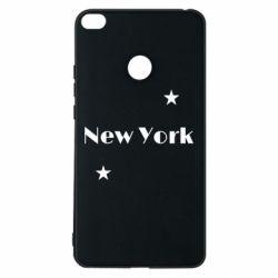Чехол для Xiaomi Mi Max 2 New York and stars